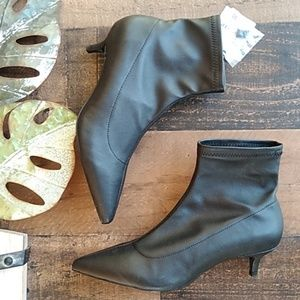 NWT Zara Black Booties